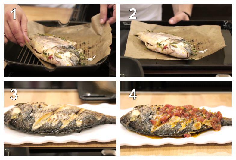 Рыба в фольге в духовке рецепт пошагово