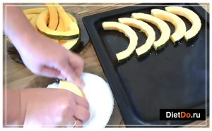 Как запечь тыкву в духовке дольками фото 3