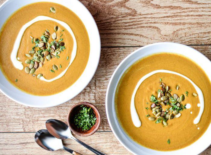 Суп-пюре из тыквы со сливками 5