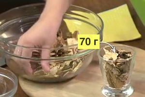 70 грамм грибов на 3 л супа