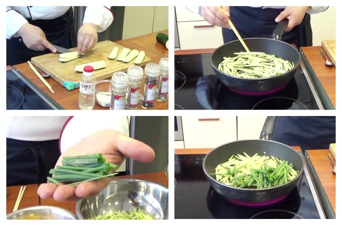 Салат фунчоза с овощами рецепт в домашних условиях 2