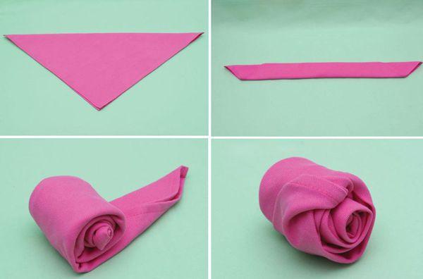 бумажных веер схемы из салфеток