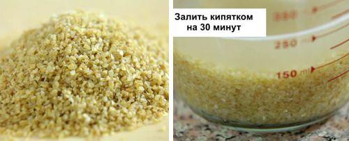 Рецепт салата табуле с булгуром