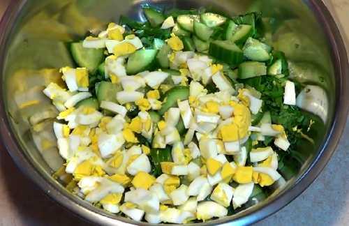 Салат с маринованной черемшой рецепты с
