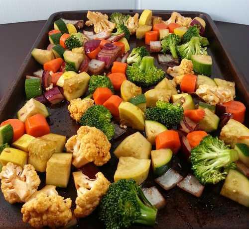 Запеченные овощи в духовке: рецепты с фото пошагово 68