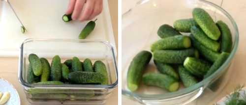Малосольные огурцы с минералкой рецепт пошагово