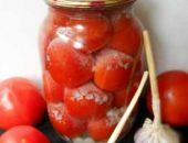 помидоры под снегом на зиму рецепт