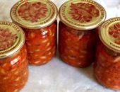 Миниатюра к статье Салат с фасолью на зиму — ТОП3 рецепта экономных и вкусных заготовок