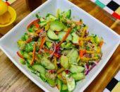 Миниатюра к статье Салат с авокадо и тунцом: ТОП-8 простых рецептов + калорийность и красивые идеи с фото