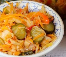 Салат кубанский на зиму