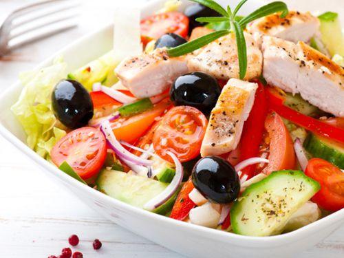 греческий салат рецепт классический с курицей