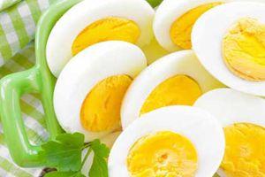 Яйца вкрутую в разрезе