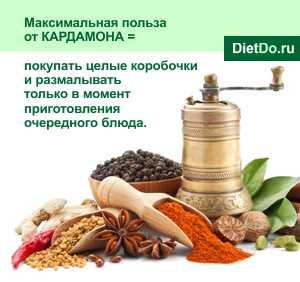 Кардамон полезные свойства и противопоказания народные рецепты