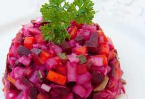 Миниатюра к статье Винегрет классический — 10+ рецептов как приготовить пошагово любимый салат