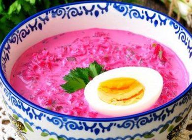 Миниатюра к статье Холодник по-белорусски: 2 рецепта, диетические и вкусные. Свежесть в жару, полезный кефир и зелень