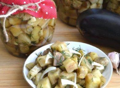 баклажаны как грибы на зиму пошаговый рецепт с фото