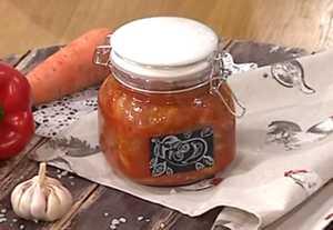Миниатюра к статье Баклажаны с фасолью на зиму без стерилизации — самый вкусный рецепт