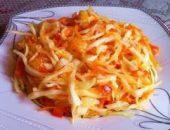 Миниатюра к статье Квашеная капуста быстрого приготовления: 2 вкусных рецепта с хрустящим очарованием