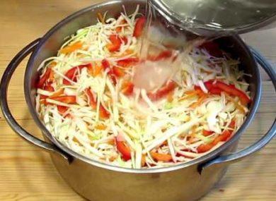 Миниатюра к статье Маринуем капусту с болгарским перцем: быстро, легко, с фото и секретами вкуса