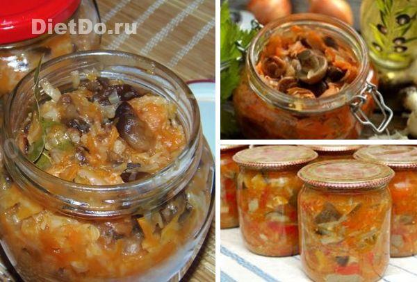 Солянка из квашеной капусты и соленых огурцов с грибами