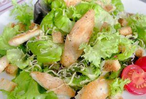как приготовить салат цезарь с курицей в домашних условиях рецепт с фото