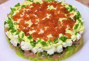 Миниатюра к статье Салат с авокадо и красной рыбой — 10+ рецептов с фото и лучшие соусы из простых продуктов
