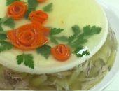 заливное из курицы с желатином рецепт с фото пошагово 1