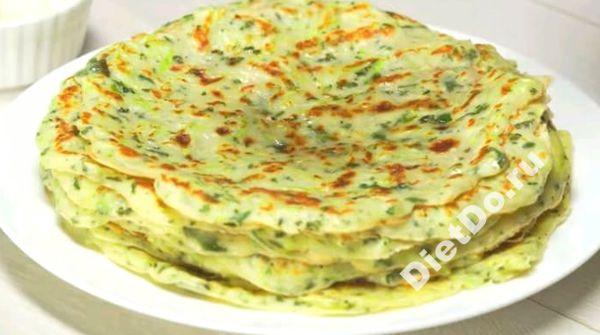 блины из кабачков пошаговый рецепт приготовления