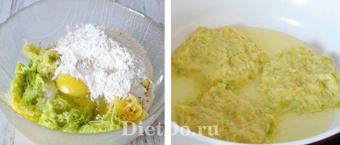 кабачковые драники пошаговый рецепт с фото