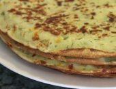 Миниатюра к статье Блины из кабачков: ТОП-4 рецепта с фото пошагово + калорийность и полезные соусы