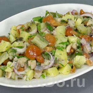салат с селедкой под водочку