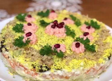 вкусные и красивые салаты на новый год рецепты с фото