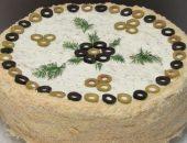 Миниатюра к статье Закуска из коржей «Наполеон»: 7+ рецептов с фото