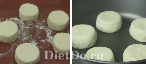 как приготовить пп сырники на сковороде