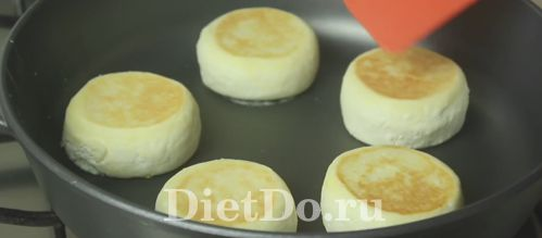 пп сырники на сковороде рецепт с фото