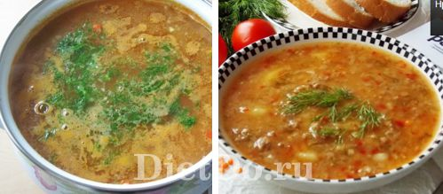 суп с чечевицей и картофелем рецепт с мясом с томатом