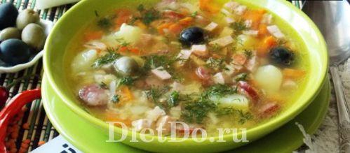 суп с чечевицей и картофелем рецепт с мясом и копченостями