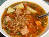 Миниатюра к статье Суп с чечевицей и картофелем: 10+ лучших рецептов с мясом