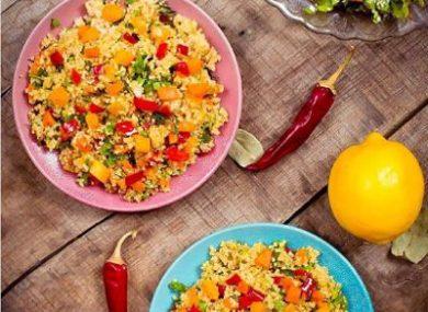 Миниатюра к статье Киноа с овощами: 15+ вкусных рецептов! На сковороде и в духовке, КБЖУ и диетические секреты
