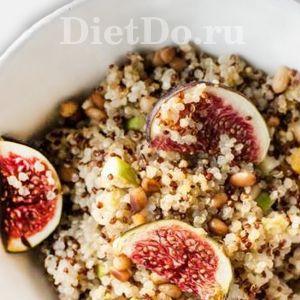 киноа с фруктами каша рецепт