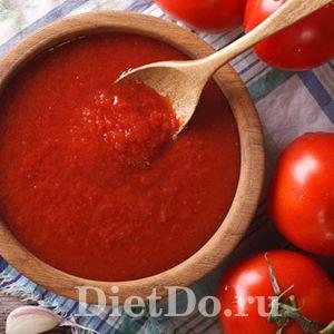 кетчуп из помидоров на зиму пальчики оближешь с крахмалом
