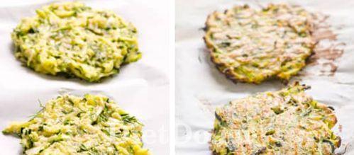 диетические кабачковые пп оладьи в духовке рецепт
