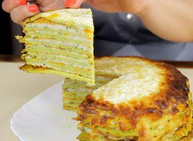 торт из кабачков рецепт с фото