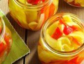 Миниатюра к статье Маринованный болгарский перец на зиму: 8+ рецептов с фото