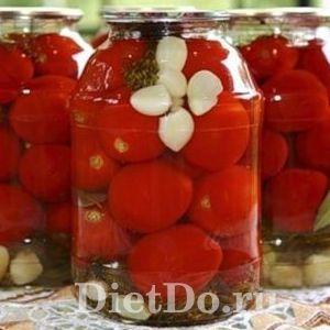 помидоры с чесноком на зиму пальчики оближешь на 3 литровую банку