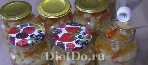 Цветная капуста по-корейски на зиму рецепт с фото пошагово