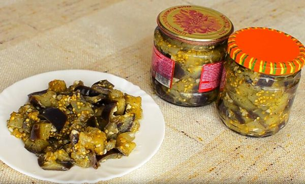 маринованные баклажаны как грибы на зиму рецепт без стерилизации