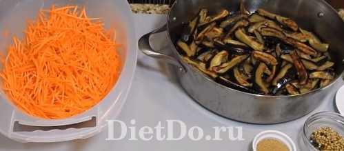 баклажаны по-корейски на зиму самый вкусный рецепт
