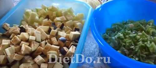 салат анкл бенс с баклажанами рецепт на зиму