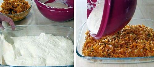 заличной пирог с начинкой из тушеной капусты
